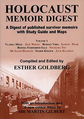 9780853035282: Holocaust Memoir Digest, Vol. 1: A Digest of Published Survivor Memoirs with Study Guide and Maps