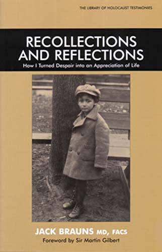 9780853037491: Recollections and Reflections: How I Turned Despair into an Appreciation of Life (Library of Holocaust Testimonies (Paperback))