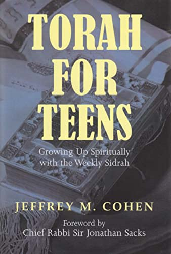 9780853038023: Torah for Teens: Growing up Spiritually with the Weekly Sidrah