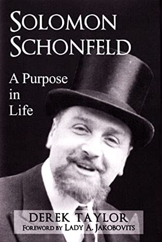 Solomon Schonfeld: A Purpose in Life (0853038910) by Derek Taylor
