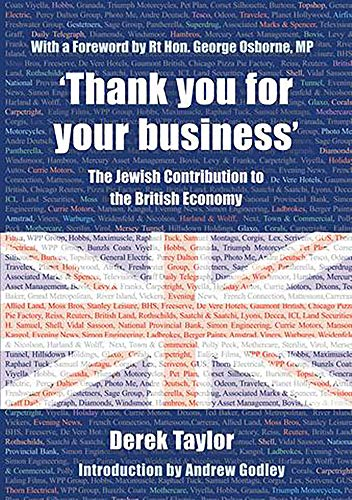 9780853039167: 'Thank you for your business': The Jewish Contribution to the British Economy
