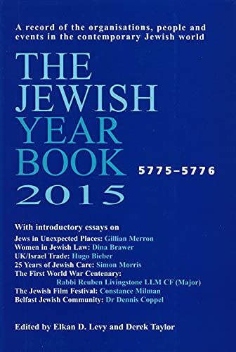 The Jewish Year Book 2015 (Hardback)