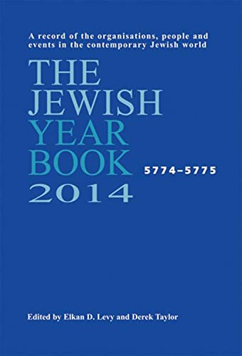 The Jewish Year Book 2014 (Hardback)
