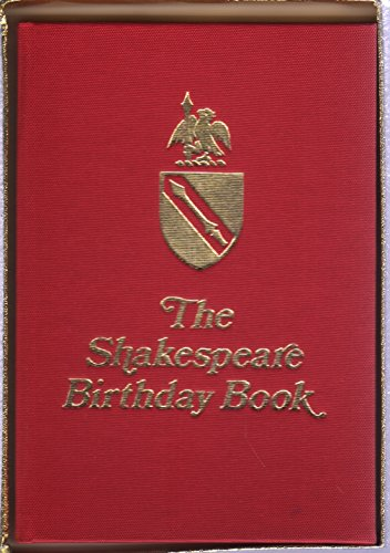 9780853060925: Shakespeare's Birthday Book (The Shakespeare Collection)