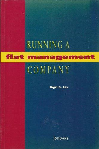9780853081555: Running a Flat Management Company