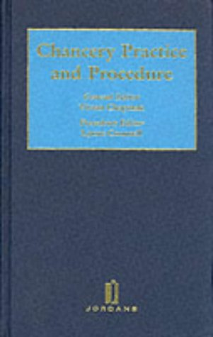 Chancery Practice and Procedure: Lynne Counsell, Vivian Chapman