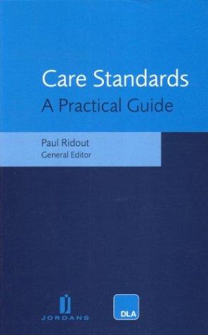 9780853087915: Care Standards Legislation Handbook