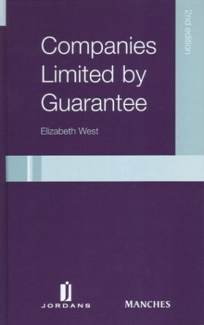 9780853088196: Companies Limited by Guarantee 2nd Ed
