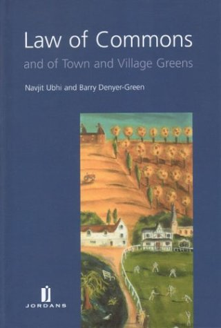 9780853088219: Law of Commons and of Town and Village Greens