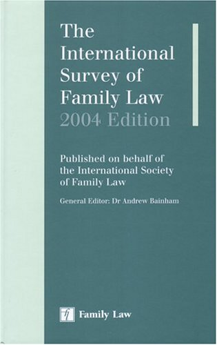 9780853089377: International Survey of Family Law 2004