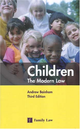 9780853089391: Children: The Modern Law (Legal Practice Course Resource)