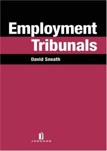 9780853089544: Employment Tribunals