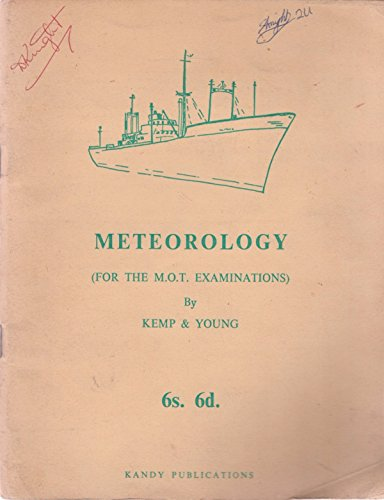 9780853090069: Meteorology (For the M.O.T. Examinations)