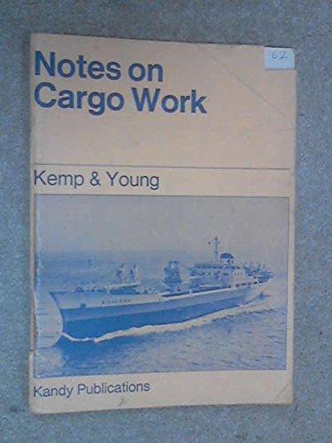 Notes on Cargo Work: J.F. KEMP &