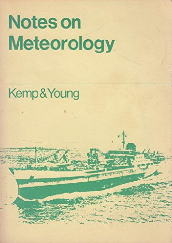 9780853090458: Notes on Meteorology