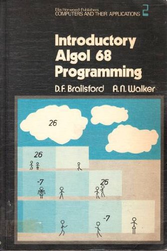 9780853121381: Introductory Algol 68 Programming