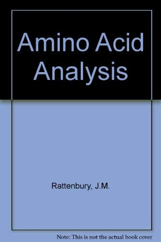 9780853121947: Amino Acid Analysis