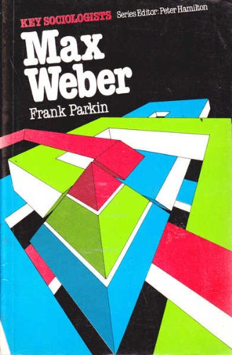 9780853124092: Max Weber (Key Sociologists)