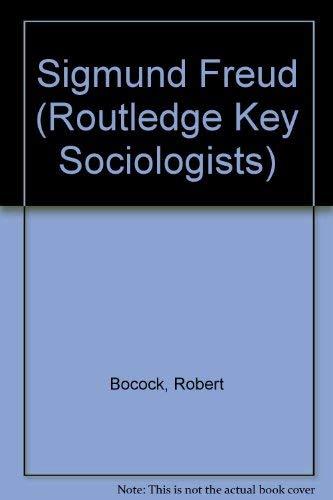 9780853125112: Sigmund Freud (Key Sociologists)
