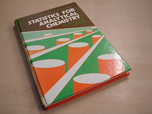 9780853126621: Statistics for Analytical Chemistry (Ellis Horwood Series in Analytical Chemistry)