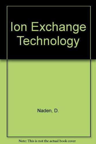9780853127703: Ion Exchange Technology