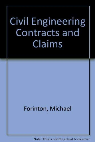 9780853141785: Civil Engineering Contracts and Claims