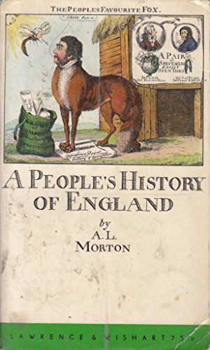 9780853151371 A Peoples History Of England