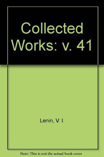 9780853152071: Collected Works: v. 41