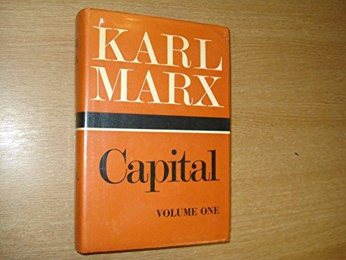 9780853152101: Capital (Volume 1) (v. 1) (English and German Edition)