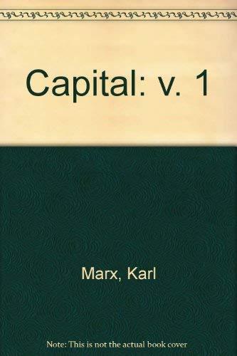 9780853152118: Capital: v. 1
