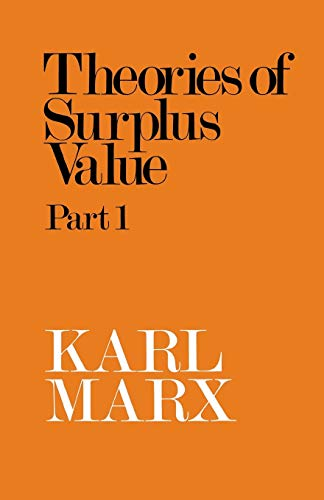 9780853152125: Theory of Surplus Value: Pt. 1