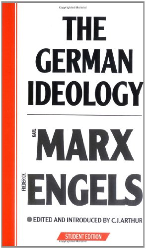 9780853152170: The German Ideology: Introduction to a Critique of Political Economy