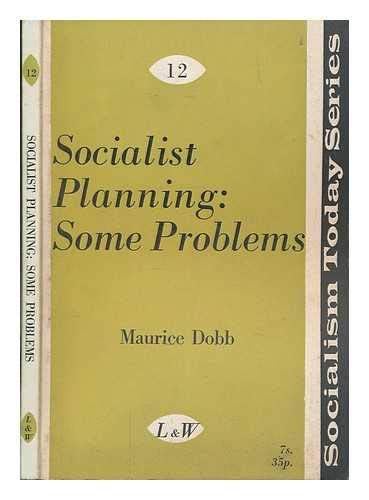 9780853152231: Socialist Planning: Some Problems (Socialism Today)