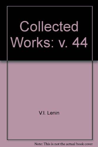 9780853152255: Collected Works: v. 44