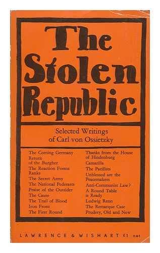 9780853152385: Stolen Republic: Selected Writings