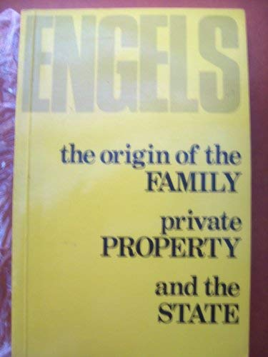 9780853152606: The origin of the Family private Property and the State
