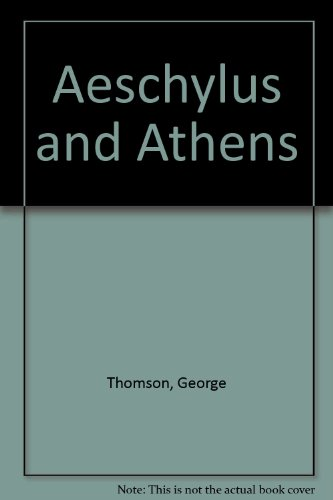 9780853152903: Aeschylus and Athens