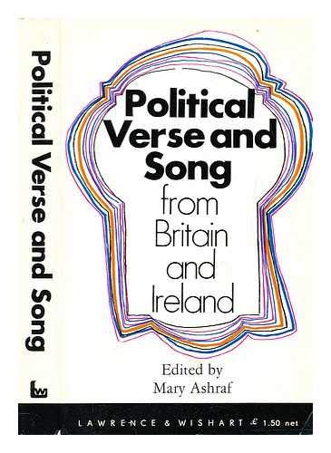 9780853153030: Political Song and Verse from Britain and Ireland