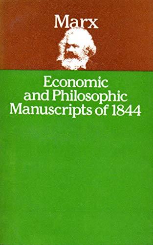 9780853155294: Economic and Philosophic Manuscripts of 1844