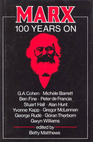 9780853155652: Marx. 100 Years On