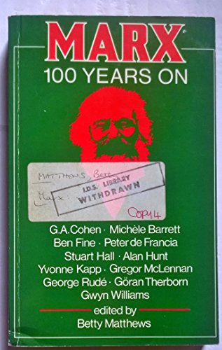 9780853155669: Marx: A Hundred Years on