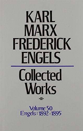 Collected Works: Correspondence v. 50 (Hardback): Karl Marx, Friedrich Engels