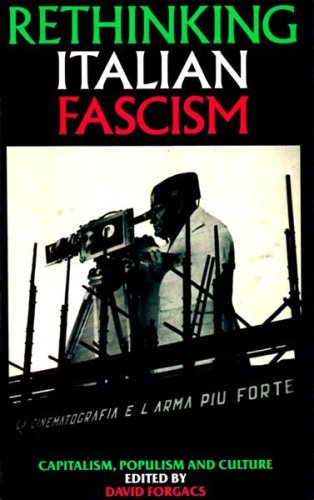 Image result for Rethinking Italian Fascism: Capitalism, Populism, Culture (ed.), Lawrence and Wishart, London, 1986.