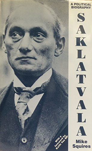 9780853157113: Saklatvala: A Political Biography