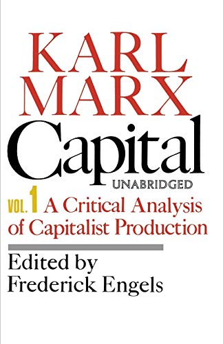 Capital: Marx, Karl