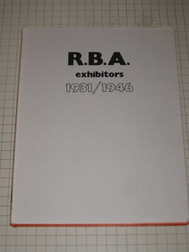 Royal Society of British Artists: Members Exhibiting, 1931-1946: Bradshaw, Maurice