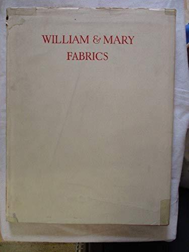 WILLIAM & MARY FABRICS.: Bolingbroke, Judith