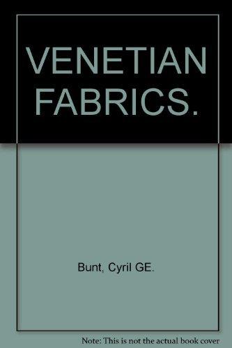 9780853175704: Venetian Fabrics (World's Heritage of Woven Fabrics)