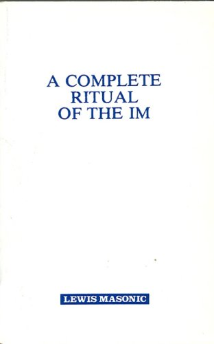 9780853180142: Complete Ritual Of The IM