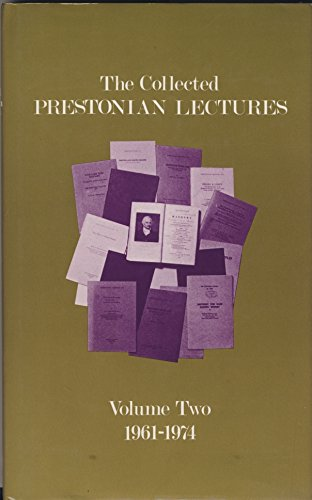 9780853181323: The Collected Prestonian Lectures, Volume Two: 1961-1974